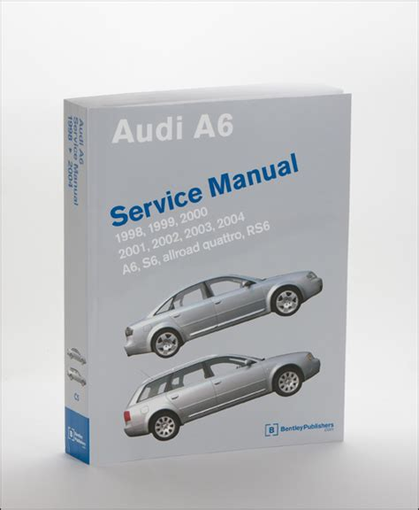 online car repair manuals free 2004 audi a6 electronic toll collection gallery audi audi repair manual a6 s6 1998 2004 bentley publishers repair manuals and