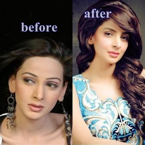 celebrities without makeup before and after 2015 before and after pictures of pakistani celebrities