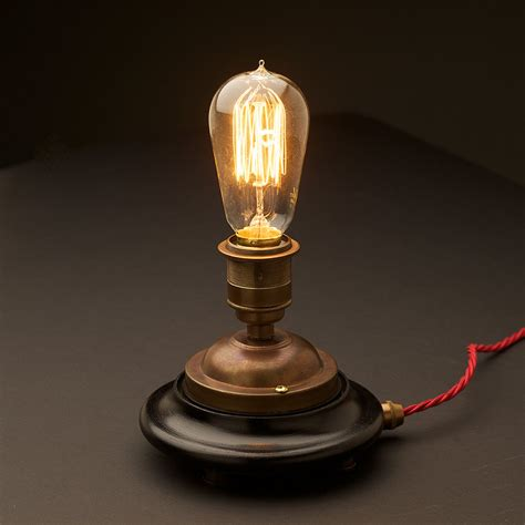 edison tn help desk vintage glass tube brass l