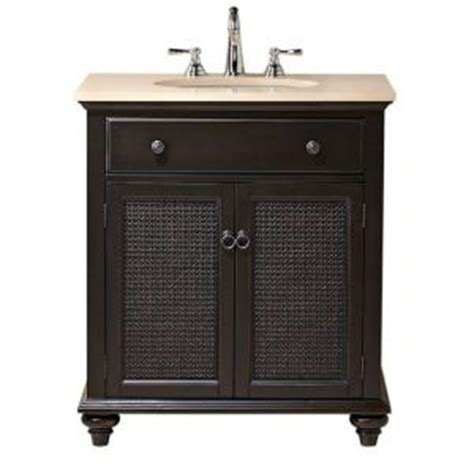 Bathroom Vanities With Tops Home Depot by Home Decorators Collection Ansley 30 In W Single Bath