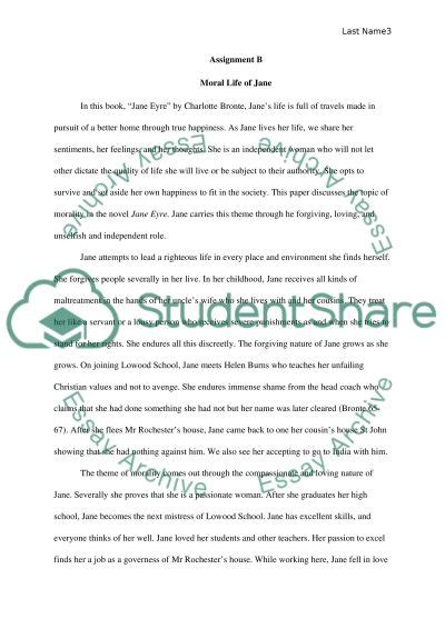 Theme Of Love In Jane Eyre Essay | jane eyre theme essay book report review exle topics