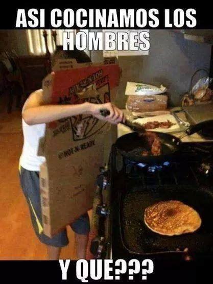 imagenes de hombres fuertes chistosas hombres cocinando 161 que jalada