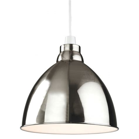 Easy Fit Ceiling Light Shades Firstlight Union Easy Fit Ceiling Light Pendant Shade In A Brushed Chrome Finish Firstlight
