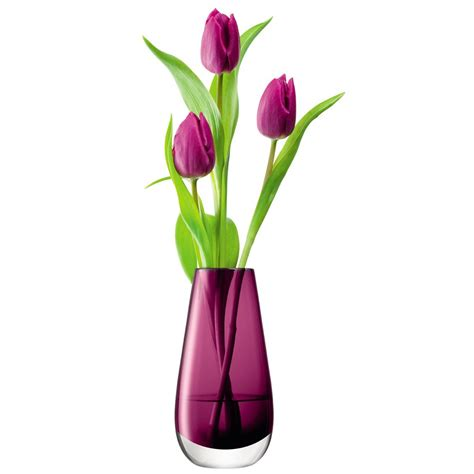 Vase With Flower by Lsa Flower Colour Bud Vase Designer Pink Flower Vase