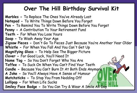 Over The Hill 60th Birthday Poems Funny | 50th birthday cards for men google search cards