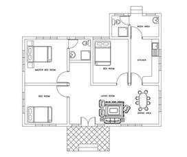 cad house autocad house plans dwg file escortsea