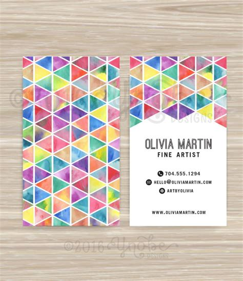 Free Artist Business Card Templates by 15 Artists Business Card Templates Free Premium Templates