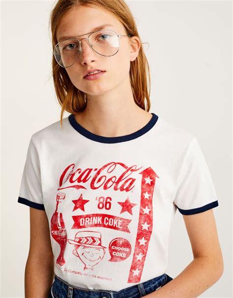Bershka Tshirt Cola Cola vintage coca cola t shirt t shirts clothing