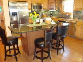 Stools For Island In Kitchen Black Granite Kitchen Island With Stools Home Design And