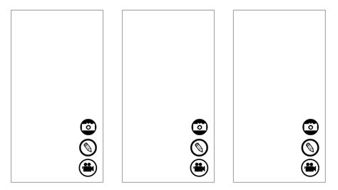 Snapchat For Brands Steps To Creating Storyboards To Improve Your Snap Stories Mike Delgado Snapchat Template Size