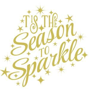 Tis The Season Also Search For Silhouette Design Store View Design 105679 Tis The Season To Sparkle