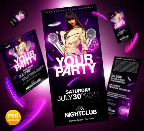 ultimate party flyer psd by party flyer on deviantart
