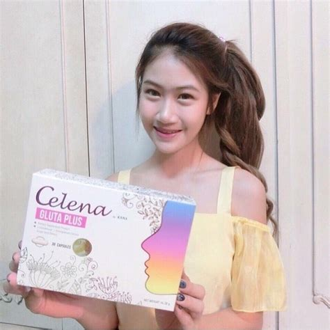 Kana Gluta gluta celena plus dietary suplemen pemutih badan by kana
