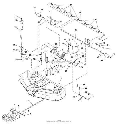 44 parts diagram simplicity 1695399 44 quot mower deck parts diagram for 44