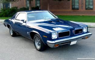 Pontiac Lemans 74 73 Lemans Gt 400 4bbl Th400 3 23 Axle Hd Handling Pkg