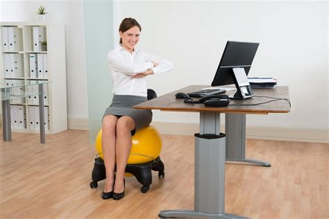 Exercise At Desk by Exercise At Desk While Working Whitevan