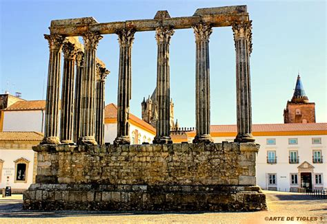 temple of diana temple of diana in evora portugal by tigles1artistry on deviantart