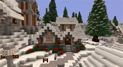 minecraft christmas house twisted christmas minecraft building inc