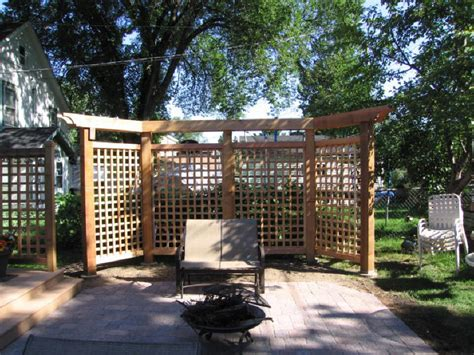 Lattice Panels And Pergola Outdoor Ideas Pinterest Fence Pergola Designs