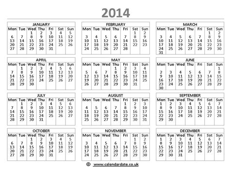 2014 Calendar Template Uk calendar 2014 with islamic dates new calendar template site