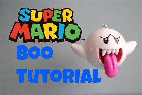 tutorial beatbox super mario super mario series boo polymer clay tutorial テレサ youtube