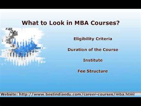 Mba Without Degree In India by Best Mba Specializations Educational Information In India