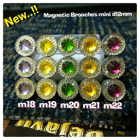 Magnet Jilbab jual harga bross magnet pin d12 jilbab kerudung