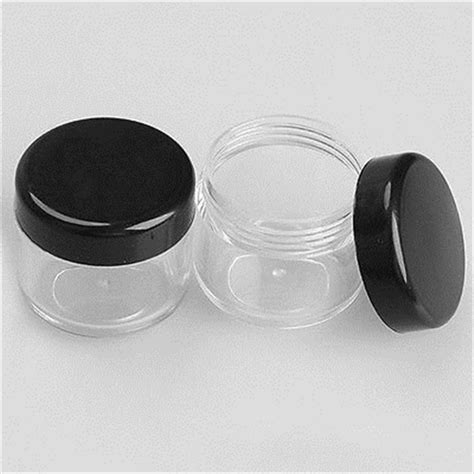 Kosmetik Jar 20 20 50x mini probe flasche kosmetik make up jar ebay