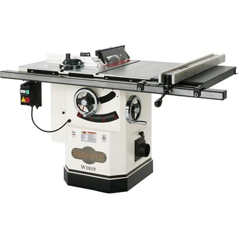 Cabinet Table Saw by Shop Fox W1819 Cabinet Saw With Riving Knife 10 Quot