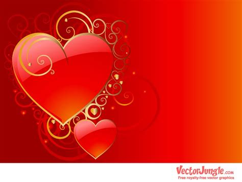 valentines dsy valentines day vector wallpapers vector illustrations for