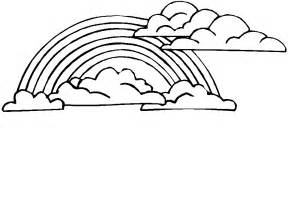 rainbow coloring page coloring pages for rainbow coloring pages