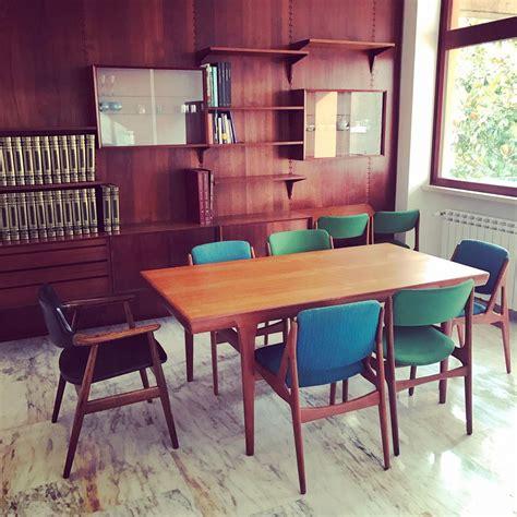 arredi anni 50 finest tavolo allungabile sedie design danese anni with