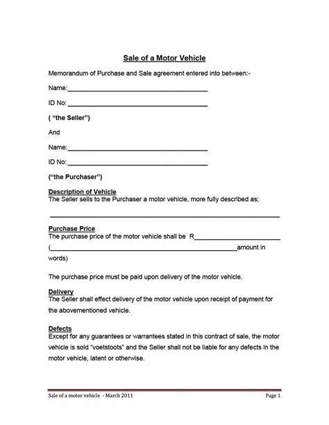 car sale agreement template 42 printable vehicle purchase agreement templates