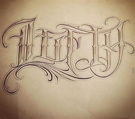 tattoo letters latino style chicano lettering величественный высокомерный надписи