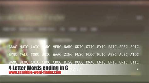 4 letter words ending in c 4 letter words ending in c gplusnick 1031
