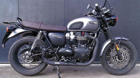 best exhaust for triumph bonneville triumph bonneville t120 massmoto exhaust system 2in2