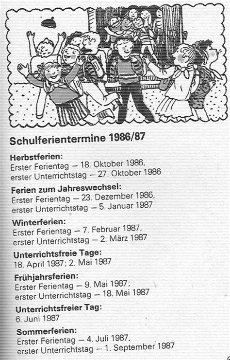 Kalender 2018 Ferien Luxemburg Schulferien Ddr 1986 1987