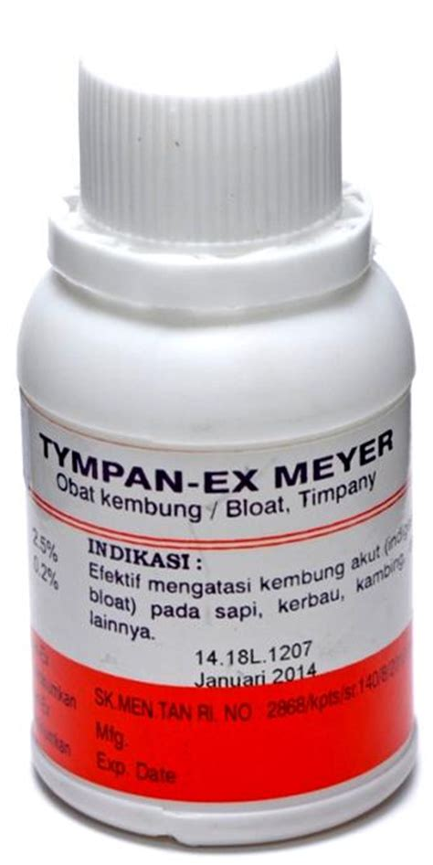 Obat Cacing Verm O tympan ex obat hewan makmur