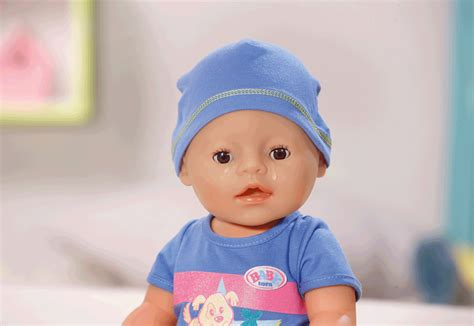 The Born baby born interactive boy baby born prima toys