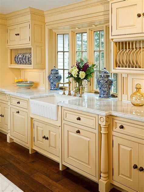 country blue kitchen cabinets french country blue and yellow kitchens pinterest