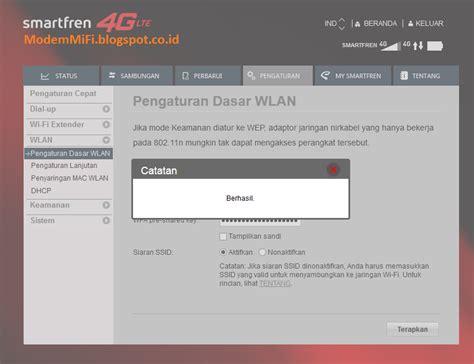Wifi Smartfren Andromax M2p cara merubah nama dan password wifi modem andromax m2p smartfren