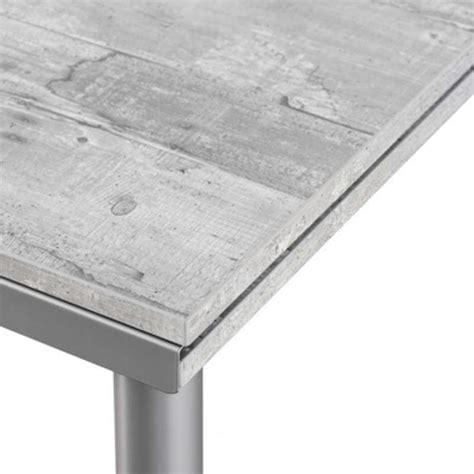 table de cuisine rectangulaire en stratifi 233 basic 4 table cuisine avec rallonge maison design modanes