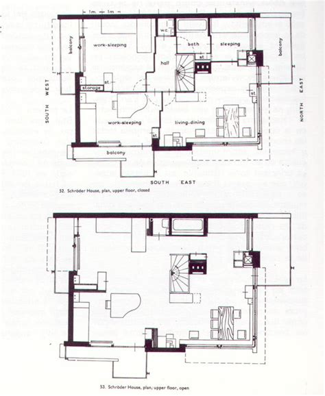 the gallery for gt rietveld schroder house plan rietveld schroder house floor plans schroder house