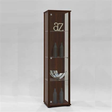 Modern Glass Cabinet by Marine Modern Glass Display Cabinet In Mocha Display