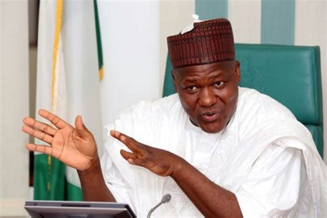 speaker of the house of representatives nigeria police must be properly equipped yakubu dogara the infostride