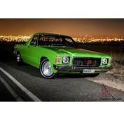 Holden HJ Show UTE1975 In Adelaide SA