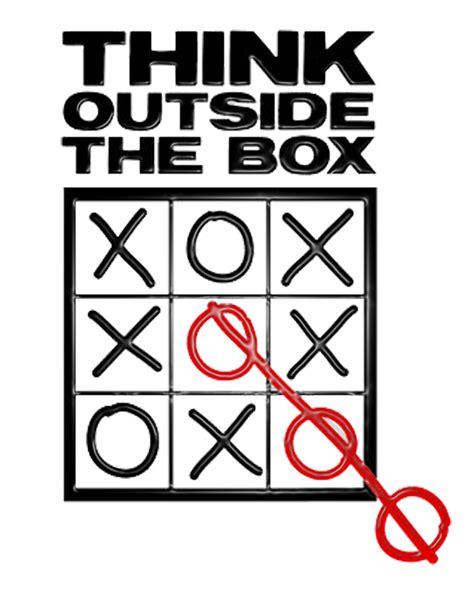 Dgil Marketing Think Like There Is No Box Oleh Ahmad Bambang thinking outside of the box by kurt frenier the marketing blender