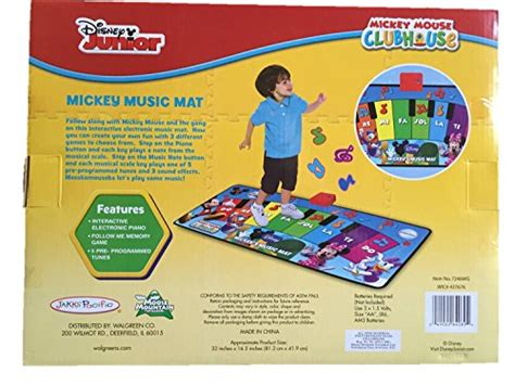 Disney Mickey Mouse Electronic Mat - disney mickey mouse clubhouse mat electronic piano