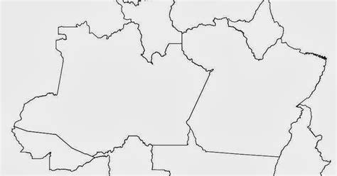 imagenes para pintar zona norte blog de geografia regi 227 o norte brasil mapa para