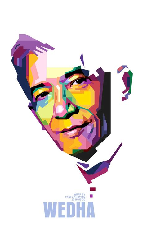 wedha pop wedha in wpap by toniagustian on deviantart